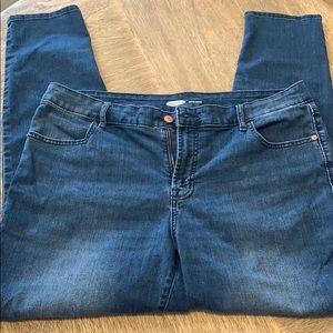 Old Navy Super Skinny Jeans size 16 EUC